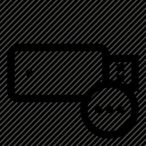 drive, flash, flash-memory, memory, storage, usb, usb-flash icon