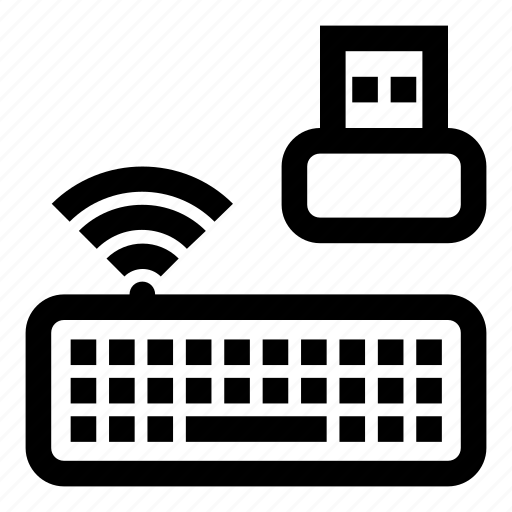 bluetooth, keyboard, keys, radio, wi-fi, wireless, wireless keyboard icon