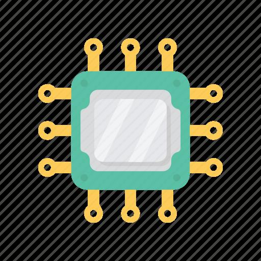 chip, computer, cpu, pc, processor icon