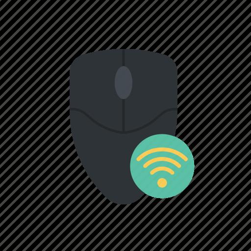 hardware, mouse, wireless icon