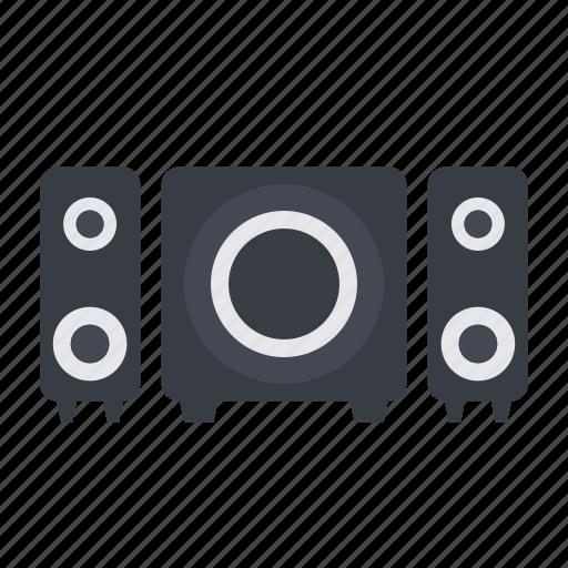 audio, bass, music, sound, speaker icon