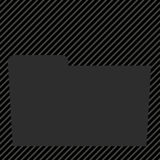 computer, empty, folder, storage, store icon