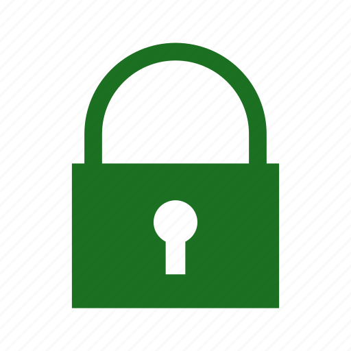 computer, lock, locked, private, secure icon