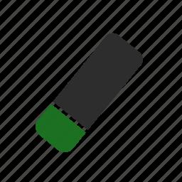 computer, delete, erase, eraser icon