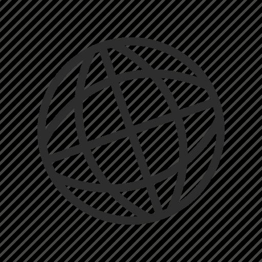 computer, connection, globe, internet, share, world icon