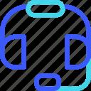 25px, headphone, iconspace icon