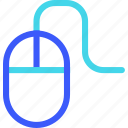 25px, iconspace, mouse, wired icon