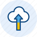 cloud, computer, it, upload icon