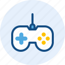 computer, controller, game, it icon