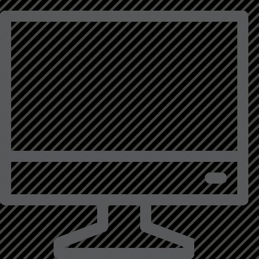 computer, desktop, device, display, lcd, monitor, screen icon