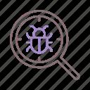 bug, code, coding, debug icon