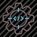 aim, goal, scope, target icon