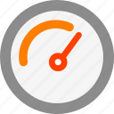 dashboard, speed, test icon