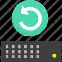 backup, hosting backup, hosting restore, restore, server backup, server restore icon
