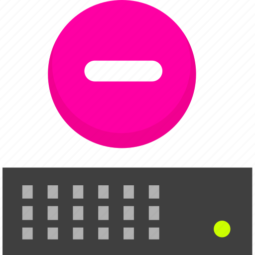 hosting, server, vps icon