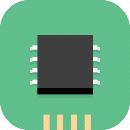 chip, computer, cup, electron, processer icon