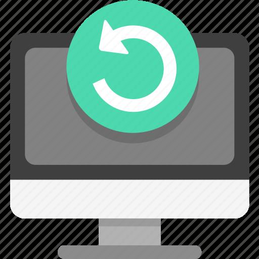 backup, restore, system icon