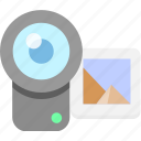 camera, caputre, photograph, screenshot, shotting icon