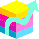 application, datas, optimization, programm icon
