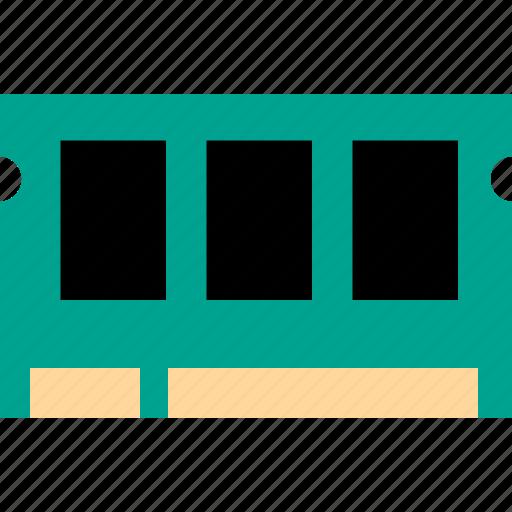 computer, electron, hardware, memory card icon