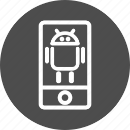 android, cell phone, device, mobile, phone, smartphone, telephone, touch phone icon