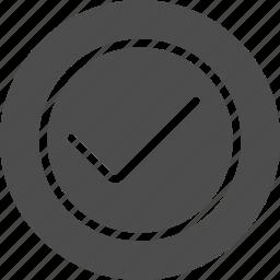 accept, apply, check, dialog, green, mark, ok, success, tick, yes icon