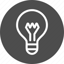brainstorming, bright, bulb, business, concept, creativity, day, electric, energy, hint, idea, imagination, lamp, light, lightbulb, management, of, solution, strategy, the, tip icon