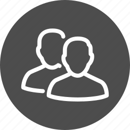brothers, contacts, customer, customers, family, friends, group, human, male, men, people, relation, relations, social, society, twain, two, users icon
