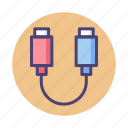 cable, connector, plug, usb