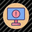 critical, danger, error, warning icon