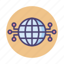connection, global, internet, network
