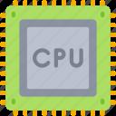 computer, cpu, processing, science, unit icon