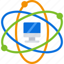 computer, experiment, imac, pc, science icon