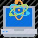 computer, laptop, macbook, pc, science icon