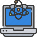computer, laptop, macbook, pc, science icon