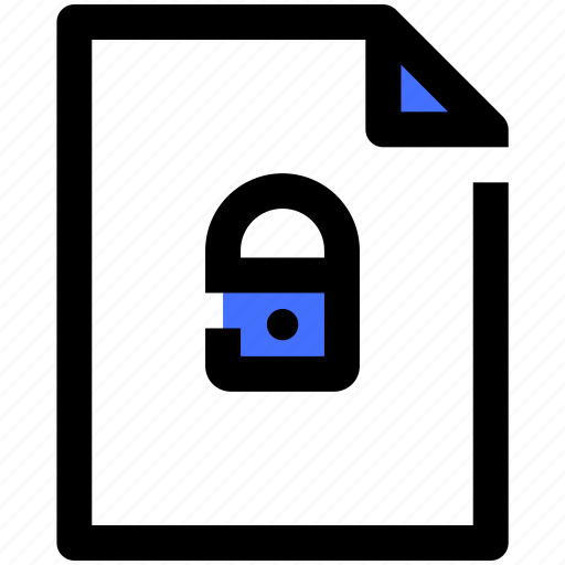 computer, data, file, information, security, technology icon