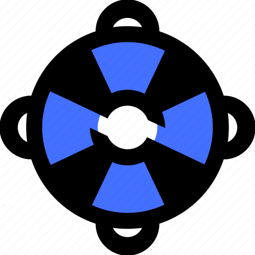 computer, data, information, lifesaver, security, technology icon