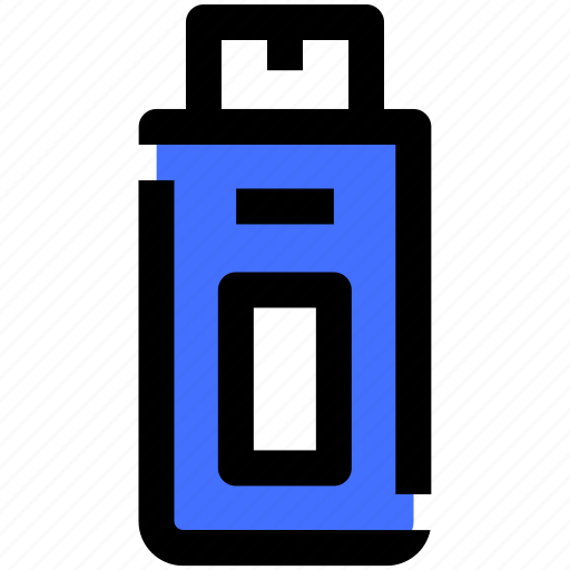 computer, data, information, pendrive, security, technology icon