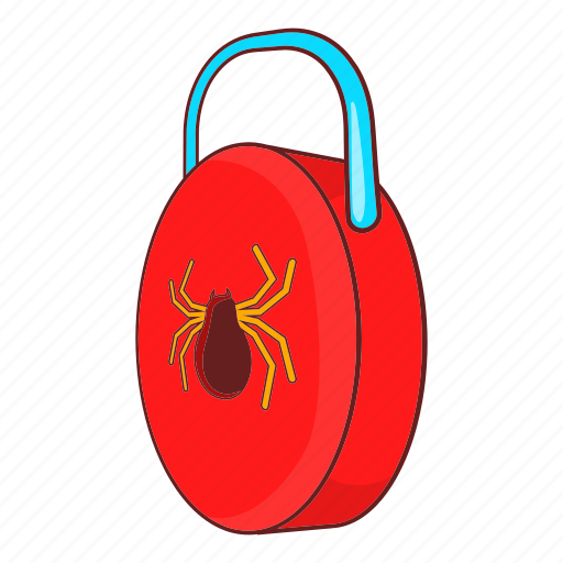 Cartoon, lock, protect, protection, secure, security, virus icon - Download on Iconfinder