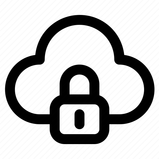 cloud, computer, computing, data, information, security, technology icon
