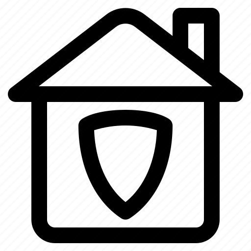 computer, data, house, information, internet, security, technology icon