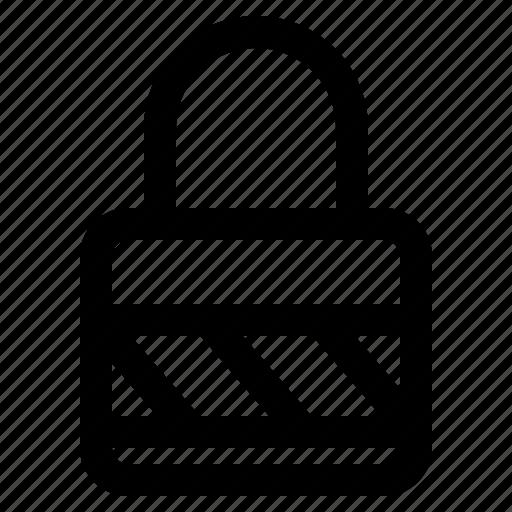 computer, data, information, internet, padlock, security, technology icon