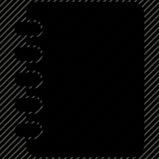 document, education, file, list icon
