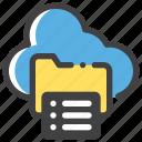 backup, cloud, server, storage icon