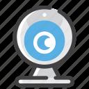 camera, stream, webcam icon