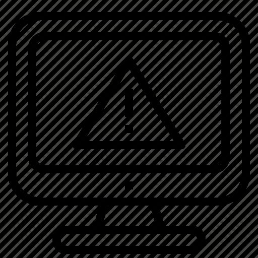 Error, warning icon - Download on Iconfinder on Iconfinder
