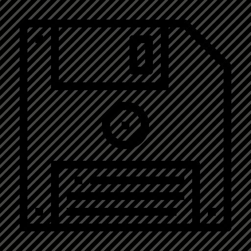 disk, floppy icon
