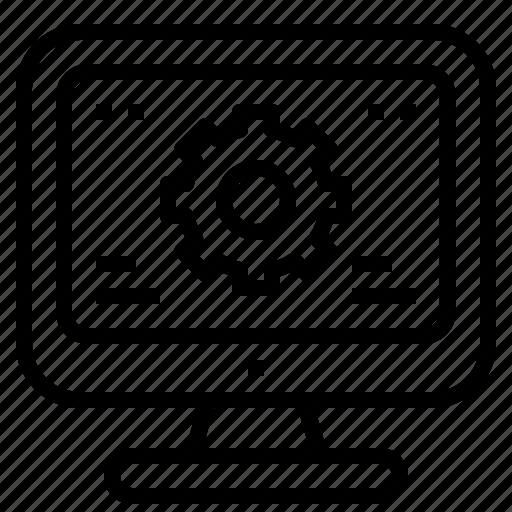 Repair, maintenance, service icon