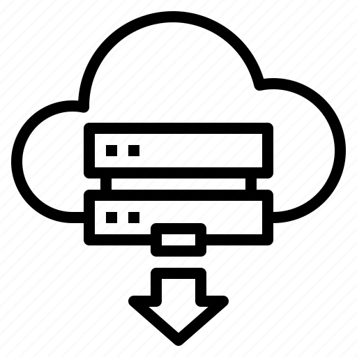 Cloud, server icon