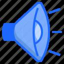 audio, sound, speaker, stereo, volume icon